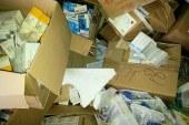 Tre discariche in cento metri: macerie e farmaci nell'ex cartiera. Opera di un ISF?