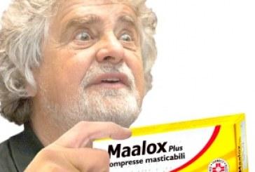 A Grillo va di traverso anche il Maalox.