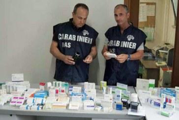 Farmaci difettati, scattano i sequestri da parte dei carabinieri del Nas