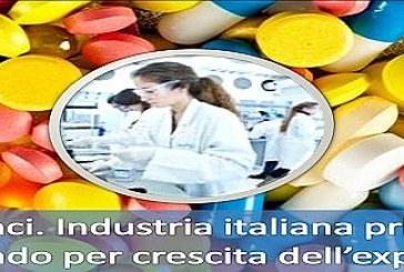 Export farmaci oltre ogni record la regione nella top 10 dell'Europa