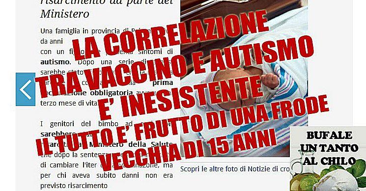 Cassazione. Nessun nesso tra vaccini e autismo