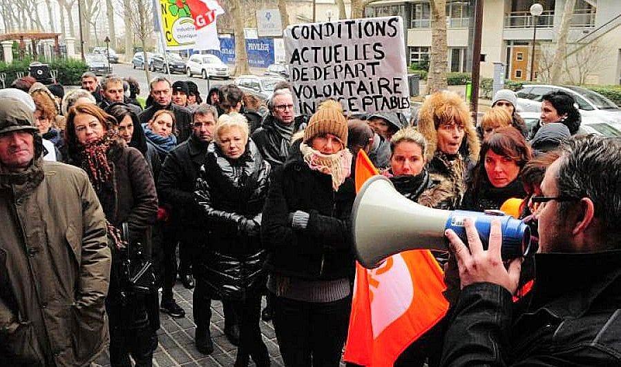 Francia. Manifestazione di ISF della Lilly per salvare il