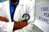 Sciopero medici, adesione con punte dell'80 per cento
