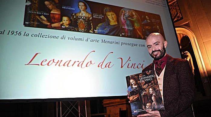 Leonardo, nuovo volume collana Menarini