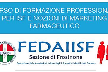Sez. di Frosinone. Corso di formazione professionale per ISF