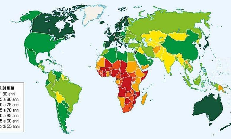 Cresce nel mondo l'aspettativa di vita (tranne che in Italia)