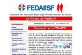 E' in fase d'invio il N. 6 della News Letter di Fedaiisf in esclusiva per gli iscritti