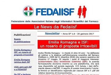 In distribuzione la News Letter Fedaiisf n. 8