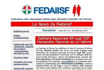 News Letter Fadaiisf n. 9. Inviata agli iscritti