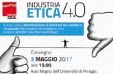 """Industria """"Etica"""" 4.0: Filctem-Cgil sugli ISF a Perugia il 3 maggio"""
