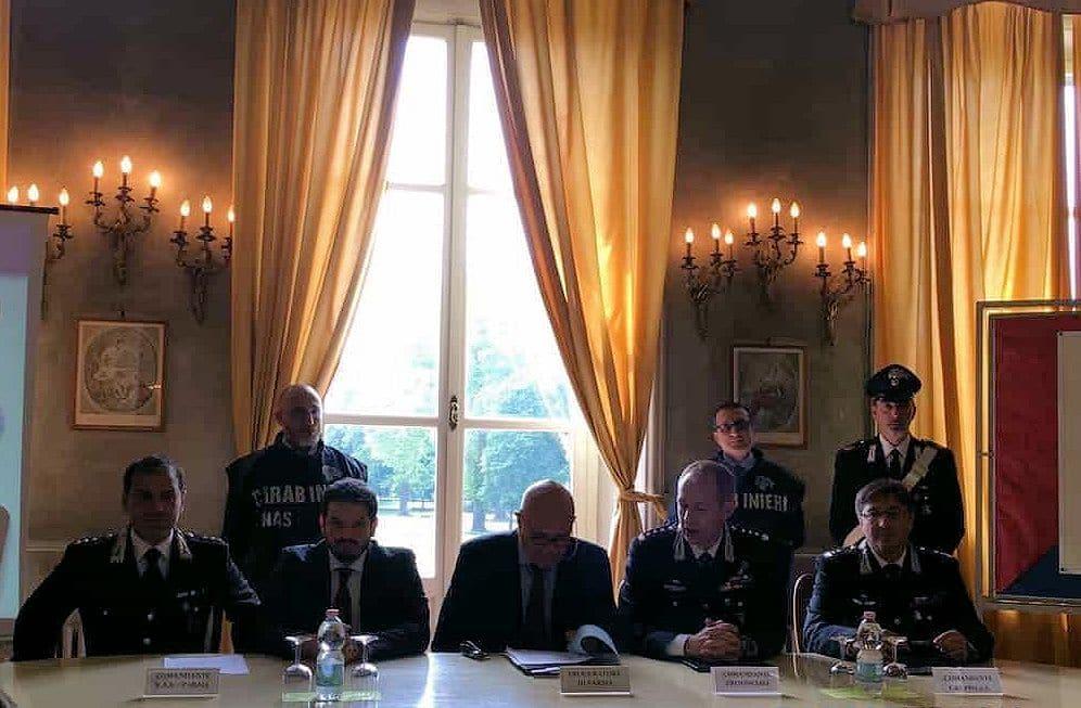 """NAS di Parma. La conferenza stampa. Gli indagati. Così agiva il """"padre della legge 38″. Lo yacht"""
