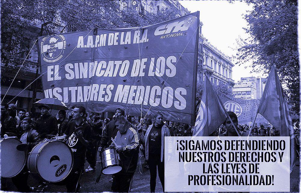 """Argentina, Informatori scientifici protestano per le """"estorsioni"""" che subiscono dalla aziende farmaceutiche"""
