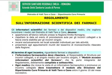 Regolamento ISF a Borgotaro (PR)
