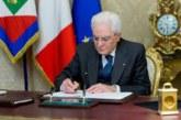 Mattarella firma la legge Lorenzin sulle professioni. Ora manca solo la pubblicazione in Gazzetta Ufficiale