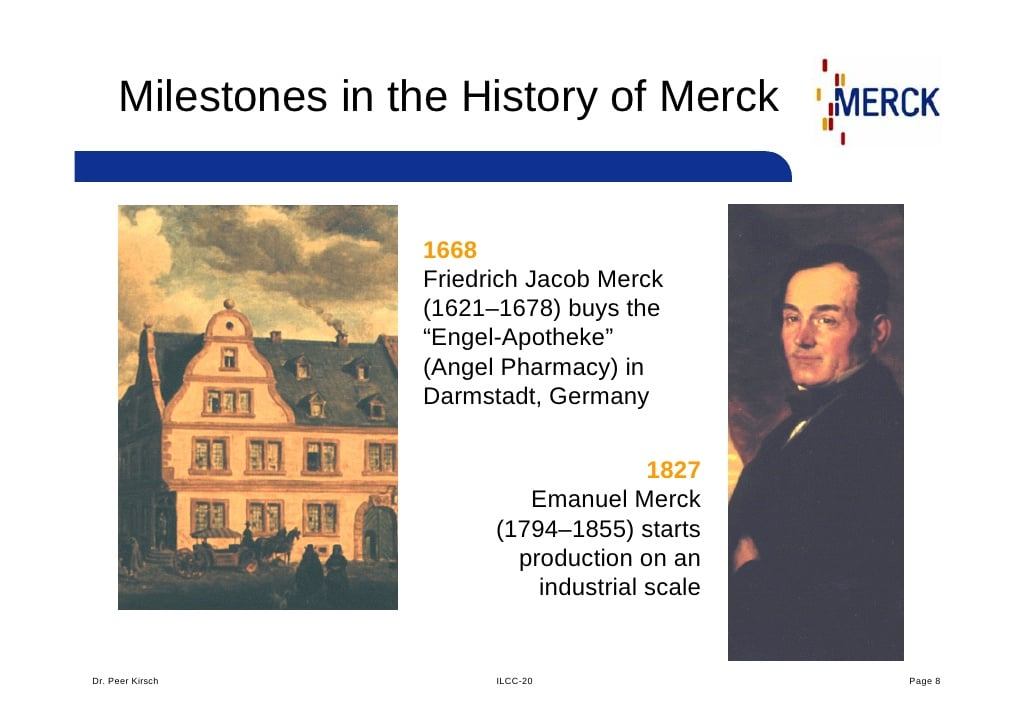 Merck KGaA compie 350 anni