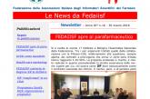 La News Letter Fedaiisf n. 16 in distribuzione agli iscritti