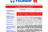 È uscito il numero 17 della Newsletter FEDAIISF inviato ai colleghi in regola con la quota associativa 2018