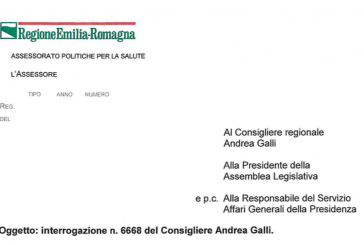 Regolamento ISF Emilia-Romagna. Risposta dell'Assessore all'interrogazione di Galli. Confronto e condivisione con le Associazioni di categoria. N.d.R.