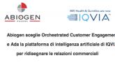 Abiogen ridisegna le relazioni commerciali con IQVIA