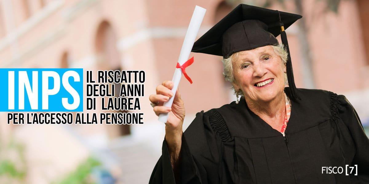 Contributi INPS a fini pensionistici. Conviene il riscatto della laurea?