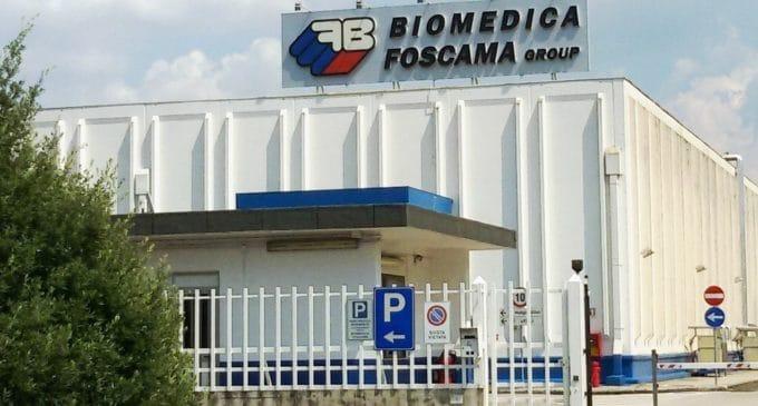 Biomedica Foscama. Il 6 agosto stabilimento all'asta