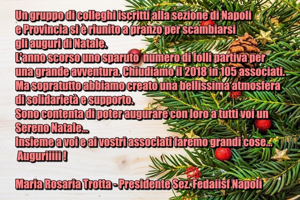 Auguri Di Natale 105.Natale Decorazione 1 Napoli Fedaiisf Federazione Delle