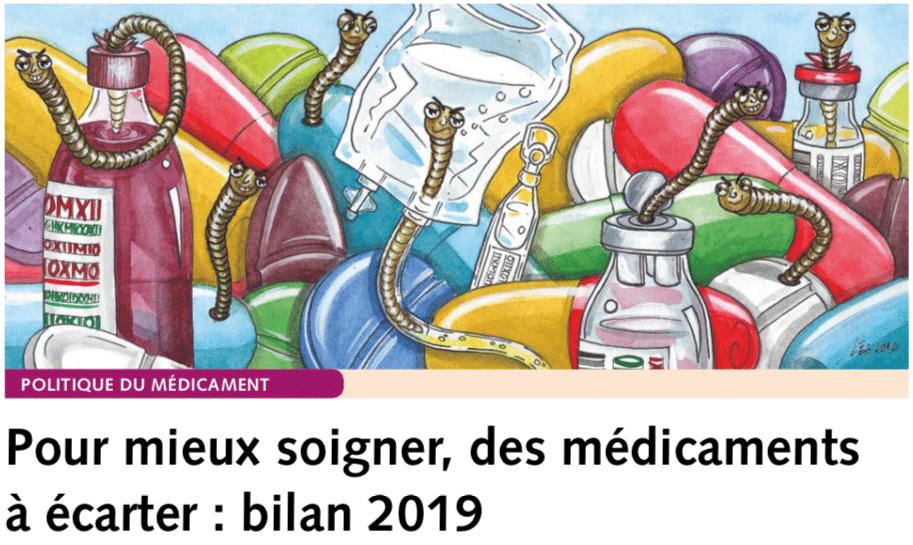 """""""Prescrire"""". Per curare meglio. Rapporto 2019: i farmaci da scartare, più dannosi che utili"""