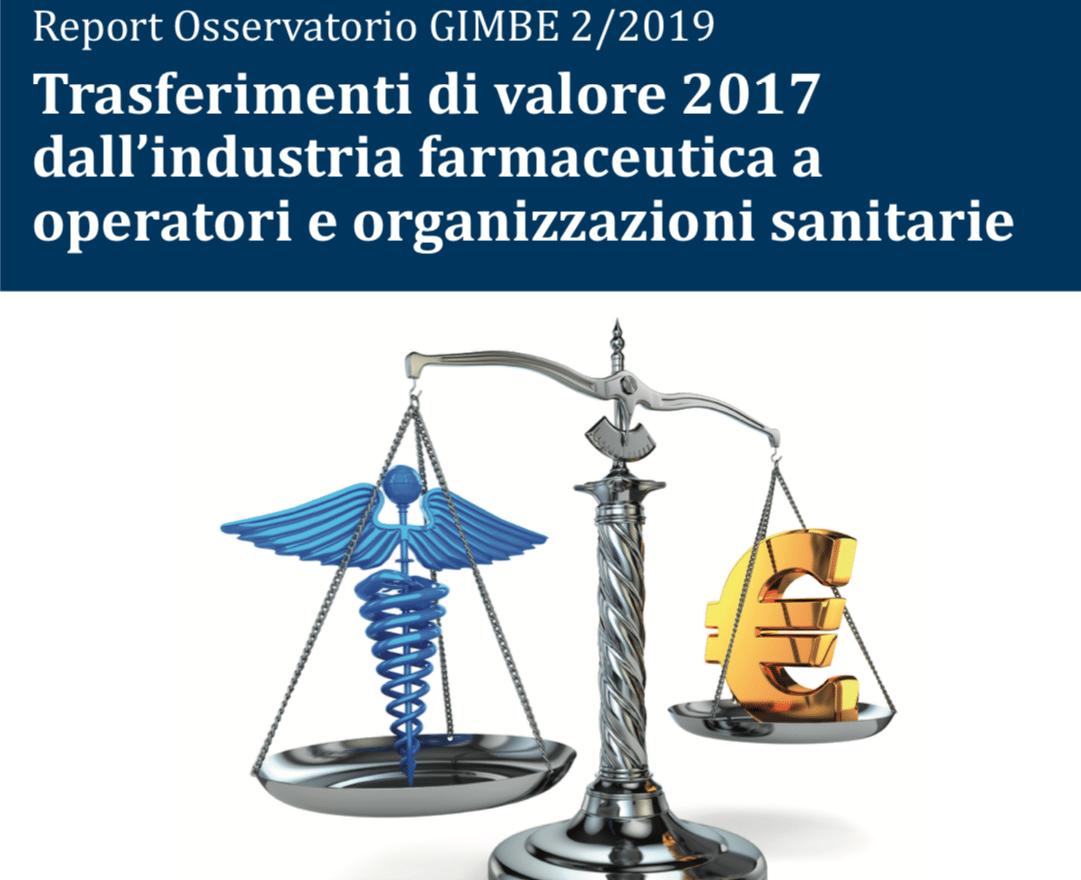 Report Gimbe. Trasferimento di valore dell'industria farmaceutica verso operatori e organizzazioni sanitarie