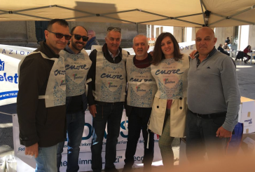 Fedaiisf Lecce in piazza con Telethon per raccogliere fondi per