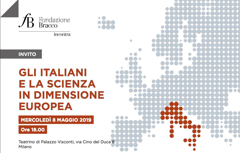 """Fondazione Bracco. Sondaggio: """"Gli italiani e la scienza in dimensione europea"""". Il 40% non crede che l'Italia sia leader in Europa"""