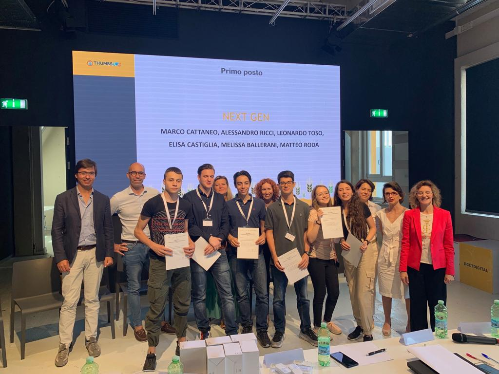 Vince l'edizione 2019 del contest Fastweb Digital Academy-Alternanza Digitale un'APP per la gestione del rapporto farmacisti ISF. N.d.R.