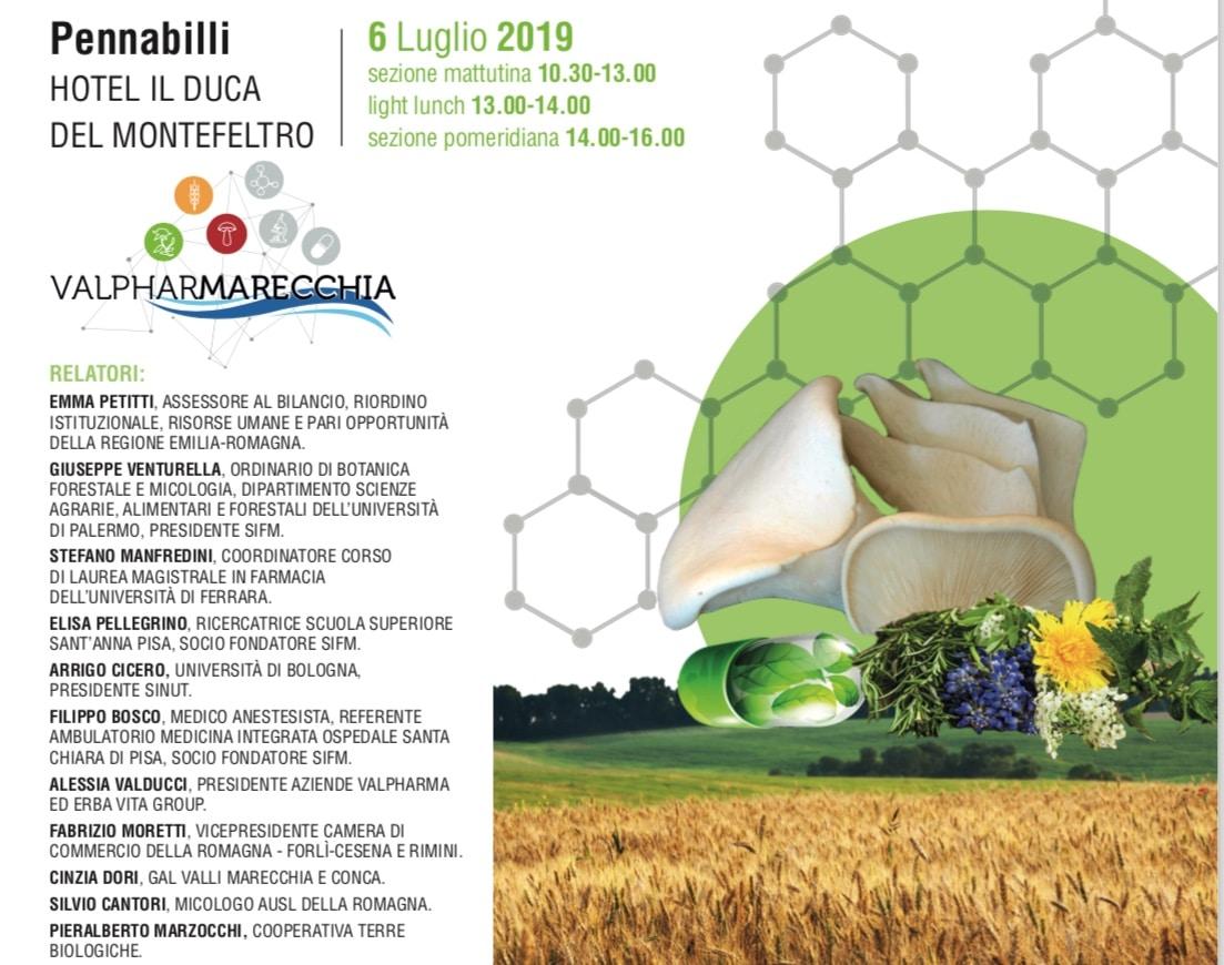 """Storie di ISF. Ex ISF collaborano al progetto """"Micoterapia Made in Italy e Erbe officinali in Valmarecchia"""". Sabato convegno a Pennabilli"""