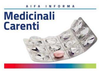 AIFA. Aggiornamento sulla carenza dei farmaci a base di cefodizima