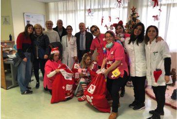 Fedaiisf Lecce porta doni ai bimbi dell'oncologia pediatrica