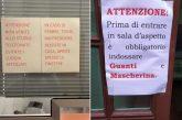 Coronavirus Napoli, tensioni fra ISF e guardie giurate nelle sedi Asl. N.d.R.  Medici con guanti e mascherine