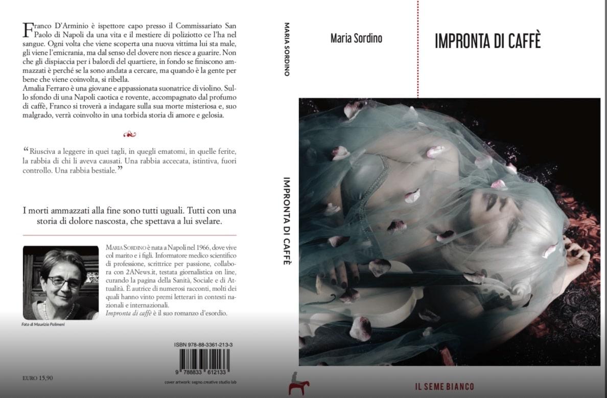 """La ISF di Napoli Maria Sordino presenta il libro """"Impronta di caffè"""",  il suo romanzo d'esordio"""