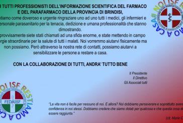 ISF Brindisi. Donazione all'ASL per l'emergenza coronavirus