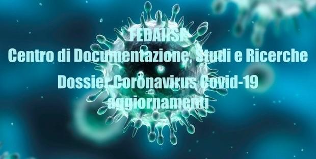 Dossier Coronavirus COVID-19. Aggiornamento