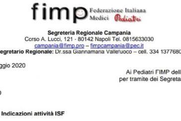 FIMP Campania. Attività ISF concordate, ogni 3 mesi