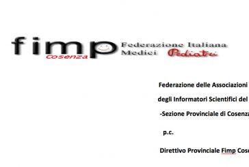 FIMP Cosenza scrive a Fedaiisf. Contatto con gli ISF a distanza per tutto giugno