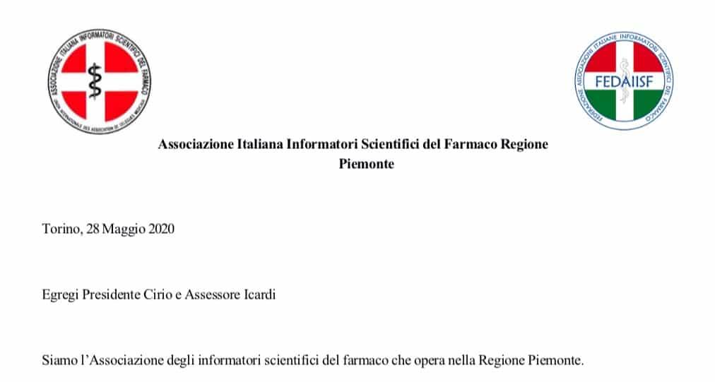 """Fedaiisf Piemonte. Lettera alla regione: """"Chiediamo di ripristinare quanto prima l'informazione scientifica presso le strutture sanitarie della Regione"""""""