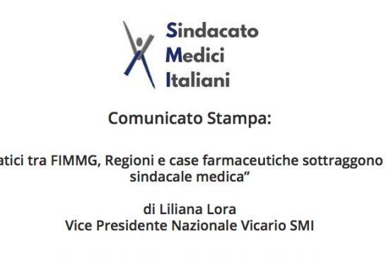 SMI. L'accordo Fimmg con Sanofi lede la libertà professionale dei medici
