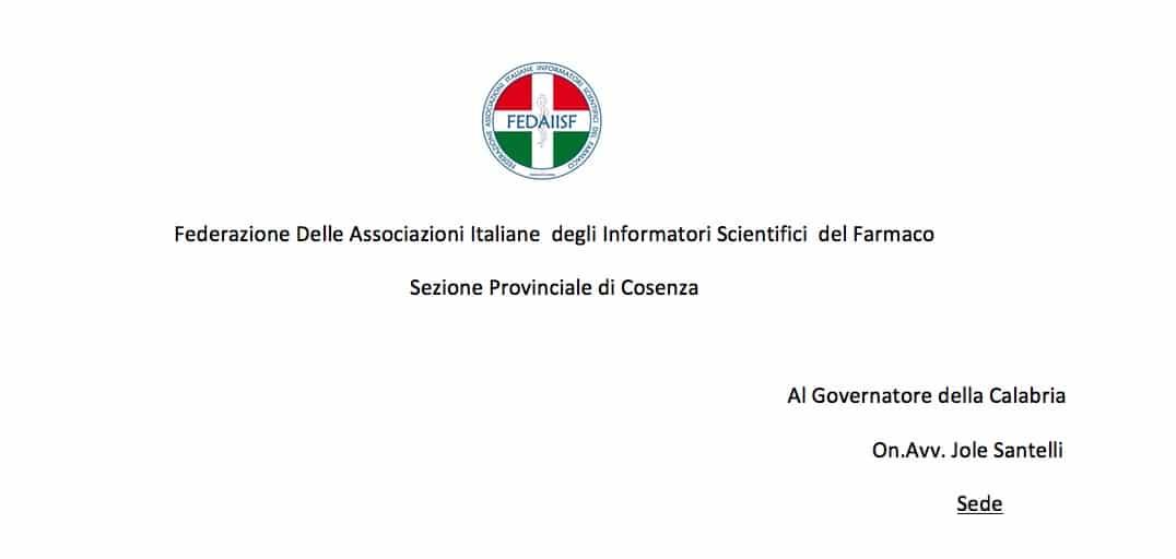 Calabria. Fedaiisf Cosenza alla Presidente della Regione: Chiediamo indicazioni sulla ripresa della nostra attività