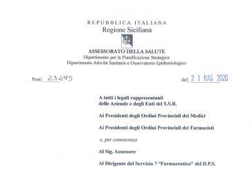 Sicilia. Attività ISF solo da remoto fino al 30 giugno. Negli ambulatori dei MMG dal 25 maggio su appuntamento