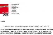 Comunicato coordinamento ISF della CGIL. Valore all'attività di ISF non marketing e di presenza, attivare regolamentazioni nazionali non marketing