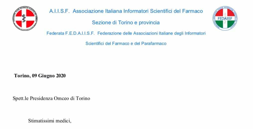 """Fedaiisf Torino risponde all'OMCeO. """"Chiediamo un confronto per la ripresa attività ISF come avviene in molte regioni"""""""