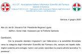 Sez. AIISF Genova, federata Fedaiisf. Lettera alle autorità regionali