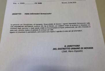 A Novara c'è un untore: ha la borsa e lo chiamano informatore scientifico