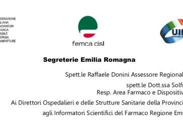 OO.SS. Emilia Romagna. Un errore perseguire regole generalizzate di blocco dell'attività degli ISF