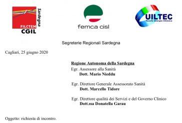 Sardegna. I sindacati chiedono un incontro con la Regione: